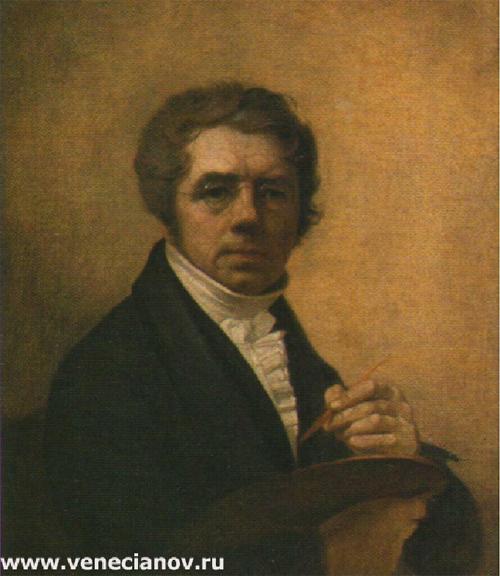 """1811 Венецианов А.Г. """"Автопортрет"""""""