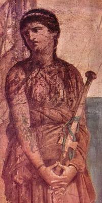 Медея, фрагмент фрески