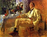Портрет Федора Шаляпина (К.А. Коровин, 1911 г.)
