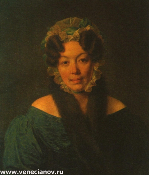 Портрет М.М.Филосовой, урожденной Рокотовой.