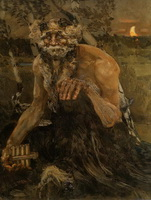 Пан (Михаил Врубель, 1899 г.)