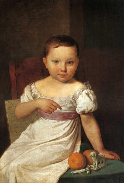 Портрет Настеньки Хавской