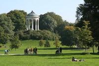 Английский парк в Мюнхене