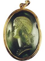 Портрет знатной женщины (Инталия)
