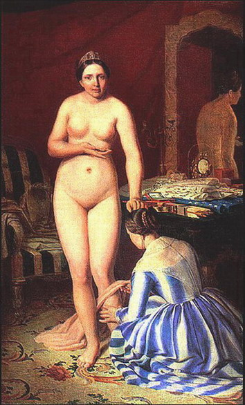 Туалет Дианы 1840-е