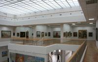Экспозиция Чувашского государственного художественного музея