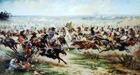 Атака лейб-гвардии Конного полка (В.В. Мазуровский)
