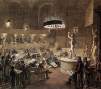 Натурный класс. 1824