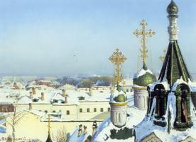 Из окна Московского училища живописи (С.И. Светославкий)