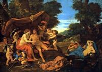 """Картина Никола Пуссена """"Марс и Венера"""""""