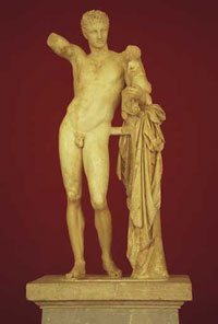 Гермес с младенцем Дионисом (скульптура)