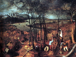 Сумрачный день (Питер Брейгель, 1565 г.)
