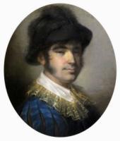 Портрет молодого человека в испанском костюме.