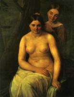 Купальщица. 1830
