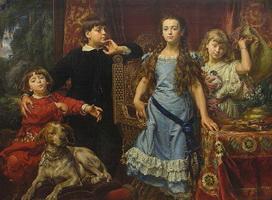 Портрет детей художника (Ян Матейко)