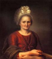 А.Л.Венецианова, мать художника.1801