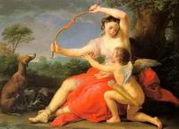 Диана и Купидон (Дж. Батони, 1761 г.)