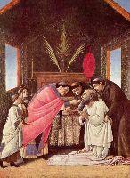 Евхаристия Сандро Боттичелли, 1495 год