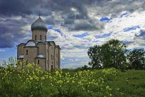 Церковь Спаса Преображения на Нередице близ Великого Новгорода