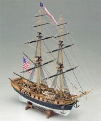 Американский бриг Лексингтон (модель)