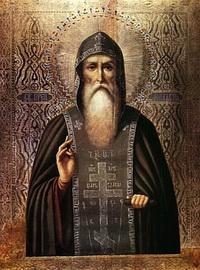 Икона преподобного Нила Столбенского (1554 г.)