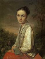 Портрет В.С.Путятиной. 1820-е
