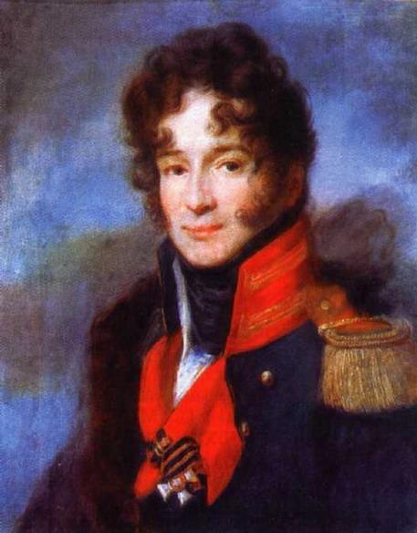 Портрет командира лейб-гвардии Драгунского полка II. А. Чичерина. Ок