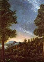 Пейзаж с замком Вёрт (А. Альтдорфер)