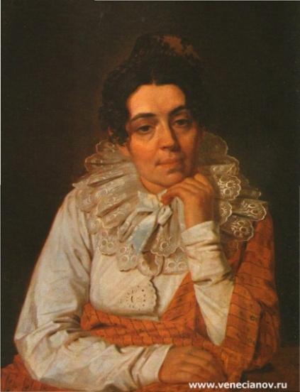 Портрет М.А. Венециановой