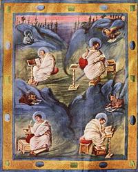 Четыре Евангелиста (книжная миниатюра)
