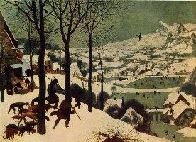 П. Брейгель Старший. Охотники на снегу
