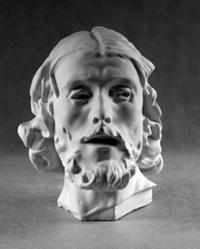 Иоанн Креститель (гипсовая голова)