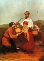 Встреча у колодца. 1843