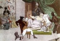 Деятельность француженки в магазине. 1812.