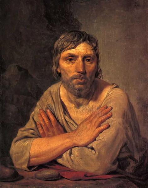 Крестьянин со скрещенными руками