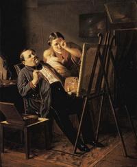 Дилетант (В.Г. Перов, 1862 г.)