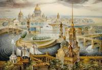 Санкт Петербург (В. Монашов, ларец)