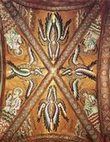 """Картина """"Серафимы, Херувимы и Ангелы"""". 1140 год. Италия"""