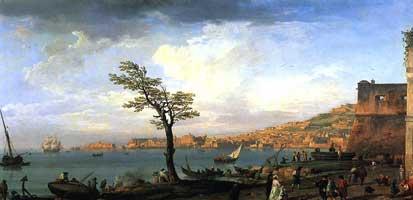 Вид Неаполитанского залива (Верне Клод Жосеф)