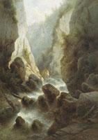 Дарьяльское ущелье (А.И. Мещерский)