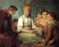 Очищение свеклы. 1820.