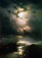 Буря на Северном море (И.К. Айвазовский)