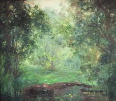 Тенистый берег (Тарасова, масло, 2005 г.)