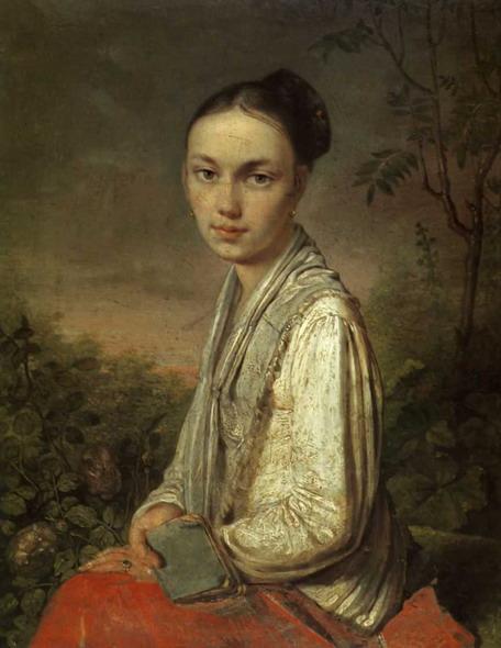 Портрет В.С. Путятиной