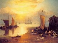 Солнце, встающее в тумане (Дж. Тернер, 1807 г.)
