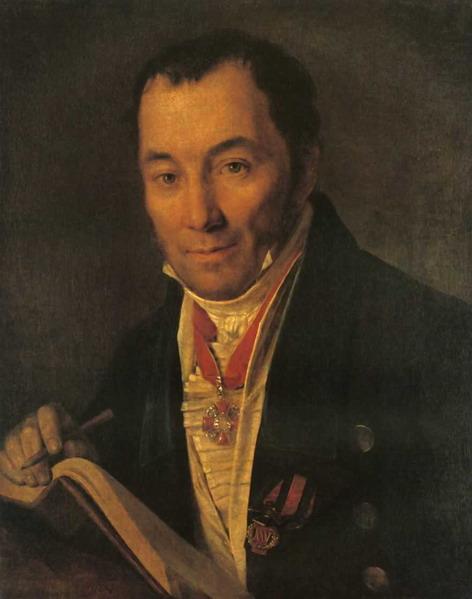 Портрет П. В. Хваского