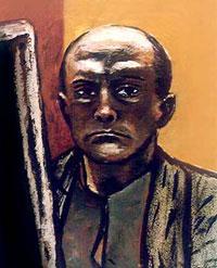 Автопортрет в желтой куртке (М. Бекман)