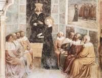 "Фреска ""Мазолино"" в церкви Сан-Клементе, 1425 год, Рим"