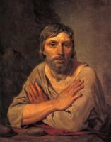Крестьянин со скрещенными руками.