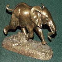 Бегущий слон (Антуан Луи Бари)